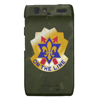 "6th Infantry Division ""Sight Seein' Sixth"" Camo Motorola Droid RAZR Case"