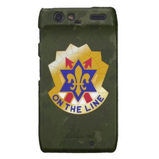 "6th Infantry Division ""Sight Seein' Sixth"" Camo Motorola Droid RAZR Case"