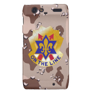"6th Infantry Division ""Sight Seein' Sixth"" Camo Motorola Droid RAZR Cover"