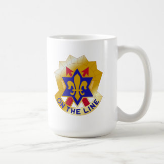 """6th Infantry Division """"Sight Seein' Sixth"""" Classic White Coffee Mug"""