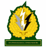 6th Psychological Operations Battalion DUI Cut Outs