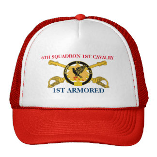 6TH SQUADRON 1ST CAVALRY 1ST ARMORED HAT