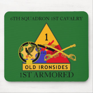 6TH SQUADRON 1ST CAVALRY 1ST ARMORED MOUSEPAD
