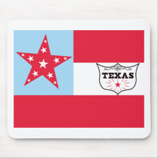 6th Texas Cavalry Flag Mouse Pad