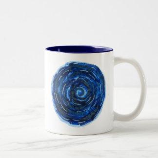 6th-Third Eye Chakra Healing Artwork #2 Two-Tone Coffee Mug
