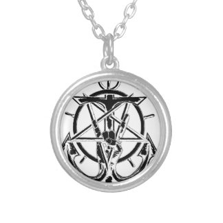 70000 Tons of Metal Wedding Cruise Round Pendant Necklace