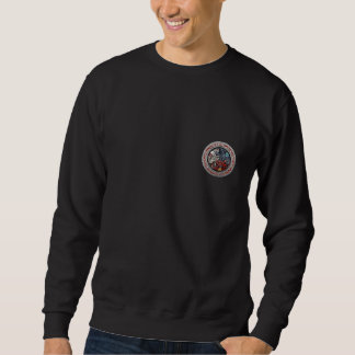 [700] Celtic Treasures - Three Dogs on Silver Sweatshirt