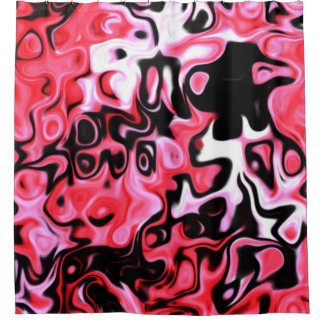 700  dark pinkish amazing modern abstract shower curtain