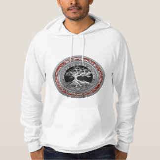 [700] Treasure Trove: Celtic Tree of Life [Silver] Hoodie