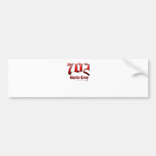 702GhettoCrew Bumper Sticker