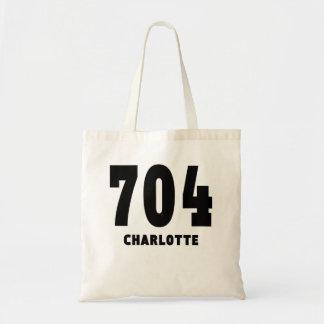 704 Charlotte Budget Tote Bag
