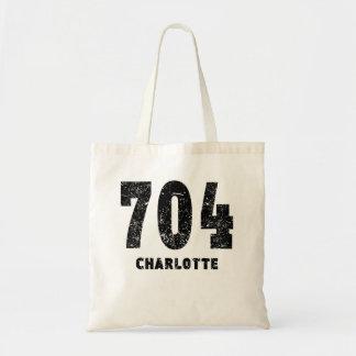 704 Charlotte Distressed Budget Tote Bag