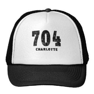 704 Charlotte Distressed Cap
