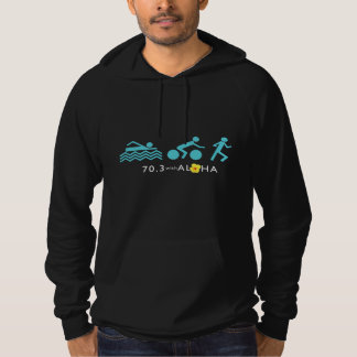 70.3 With Aloha Men's CA Fleece Hoodie