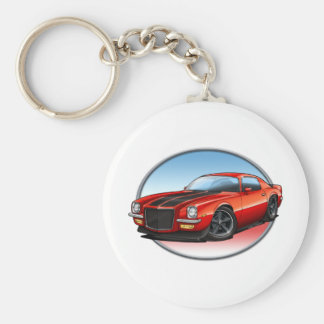 70-73 Red B Camaro png Key Chain