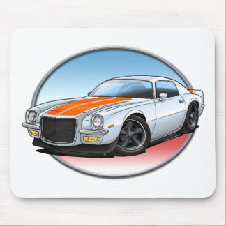 70-73 White O Camaro.png Mouse Pad