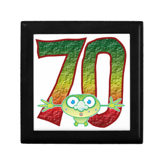 70 Age Ghoul Small Square Gift Box