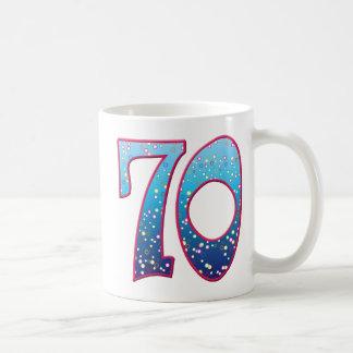 70 Age Rave Basic White Mug