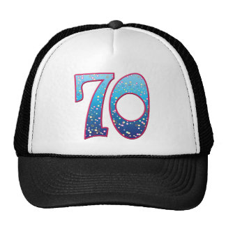 70 Age Rave Trucker Hats