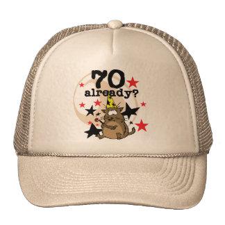 70 Already Birthday Mesh Hats