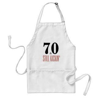 70 and Still Kickin' Birthday Party Apron
