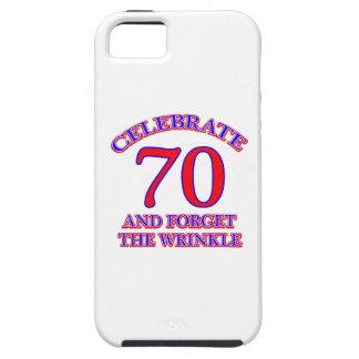 70 Birthday design iPhone 5 Cover