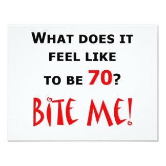 70 Bite Me! Invites