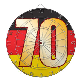 70 GERMANY Gold Dartboard