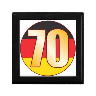 70 GERMANY Gold Gift Box
