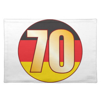 70 GERMANY Gold Placemat