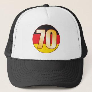 70 GERMANY Gold Trucker Hat