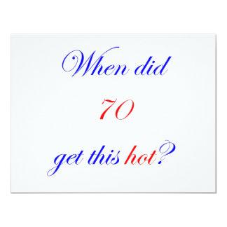 70  Hot Invitations