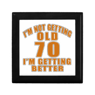 70 I Am Getting Better Small Square Gift Box