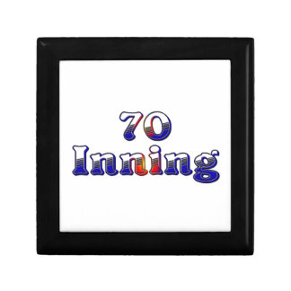 70 Inning Small Square Gift Box