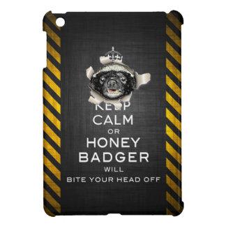 [70] Keep Calm or Honey Badger… iPad Mini Case