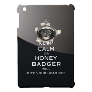[70] Keep Calm or Honey Badger… iPad Mini Cover