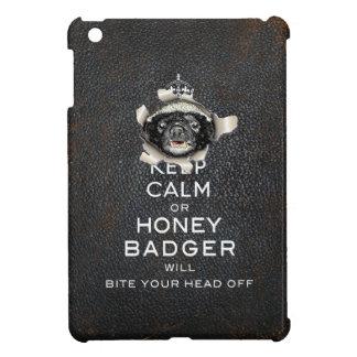 [70] Keep Calm or Honey Badger… iPad Mini Covers