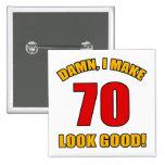 70 Looks Good! Button