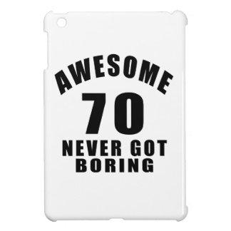 70 never got boring iPad mini cover
