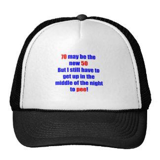 70 new 50 hats