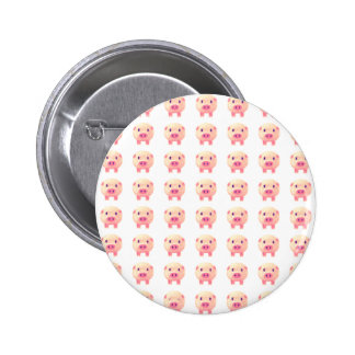 70 Pink Pigs Buttons