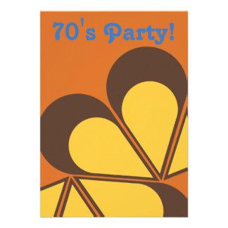 70 s Party Invitation