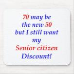 70 Senior Citizen Mouse Pads