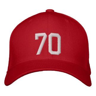 70 Seventy Embroidered Baseball Cap