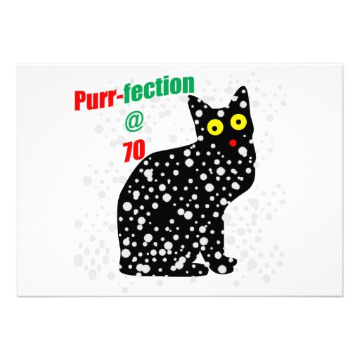 70 Snow Cat Purr-fection Invites