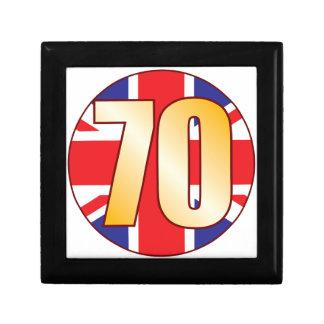70 UK Gold Gift Box