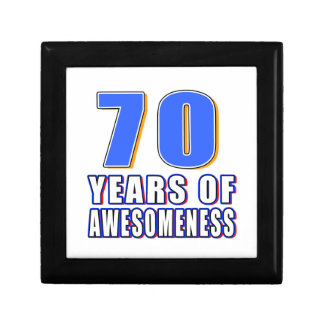 70 Years of Awesomeness Gift Boxes