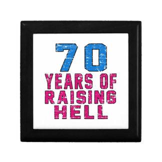 70 Years of raising hell Jewelry Box