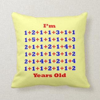 70 Years Old Cushion