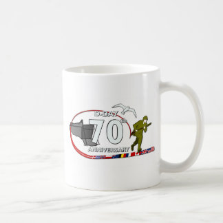 70ème anniversary of the Normandy landing of Norma Coffee Mugs